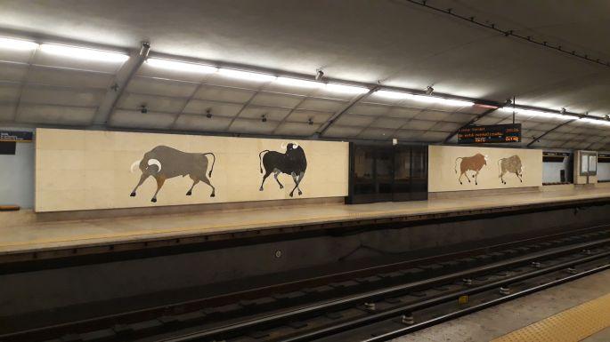 Metró bikákkal :-)