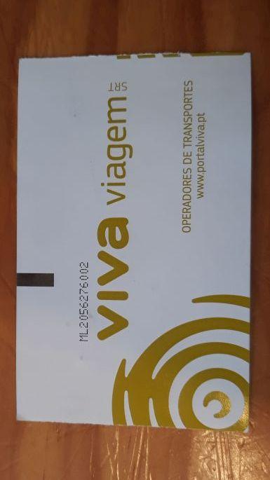 A lisszaboni közlekedés alapja, a VIVA Viagem kártya.