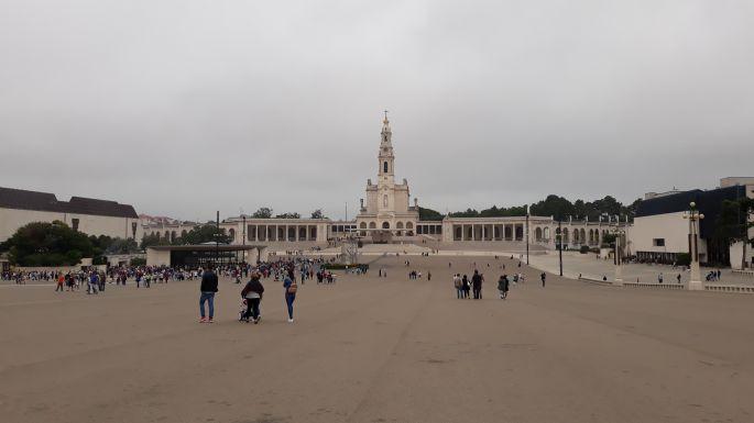 Portugál camino, Fátima, bazilika