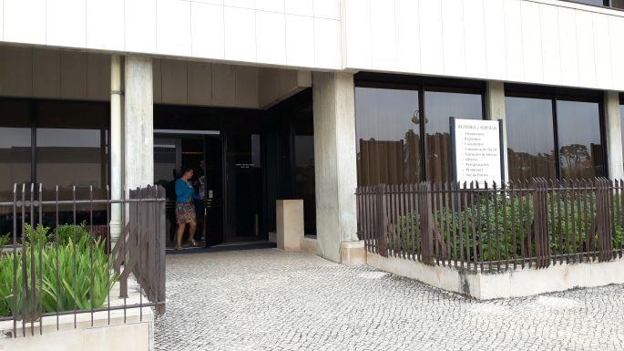 Portugál camino, Fátima, a pecsételős épület