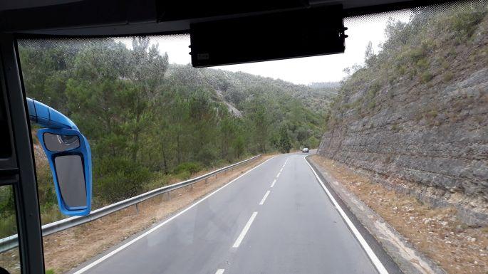 Portugál camino, Fátimából Tomárba busszal
