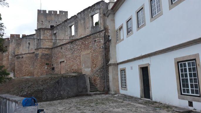 Portugál camino, Tomar, a templomosok vára