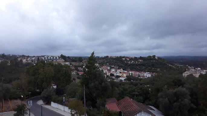 Portugál camino, Tomar, kilátás a templomosok várából