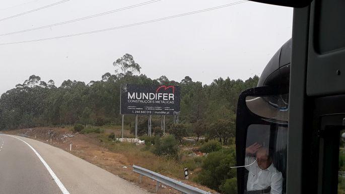 Portugál camino, a Mundi név itt is szembejött :-)