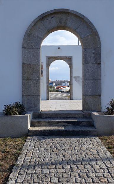 Portugál camino, Porto, kapu