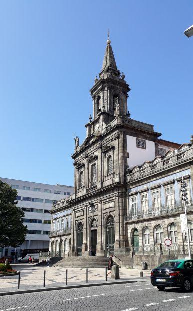Portugál camino, Porto, templom