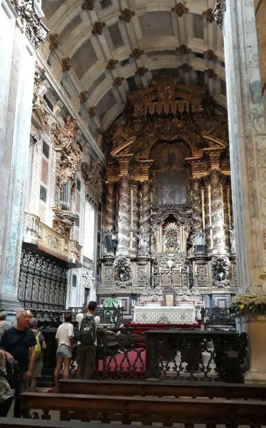 Portugál camino, Porto, Sé katedrális