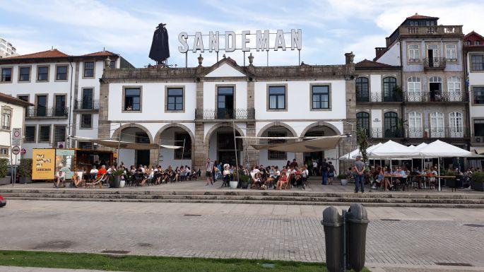 Portugál camino, Porto, parti sétány Zorróval