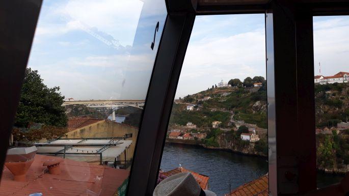 Portugál camino, Porto, sikló