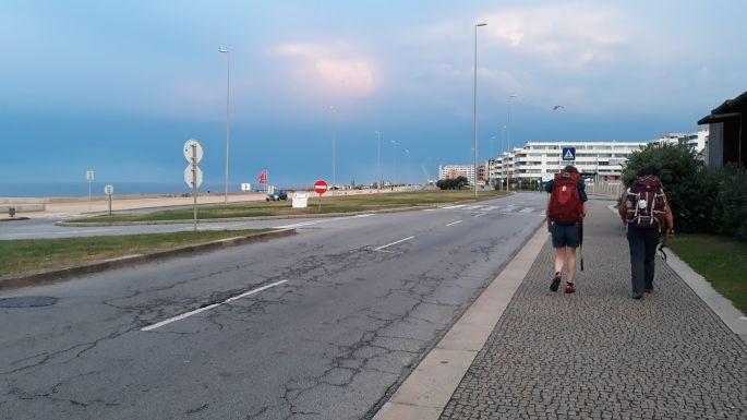 Portugál Camino de la Costa, Porto, gyaloglás az óceán felé