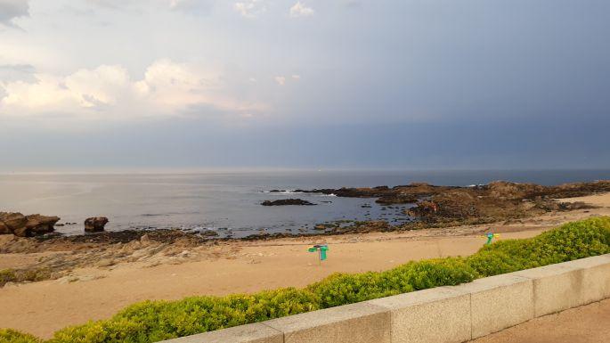 Portugál Camino de la Costa, az óceán