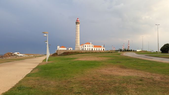 Portugál Camino de la Costa, világítótorony