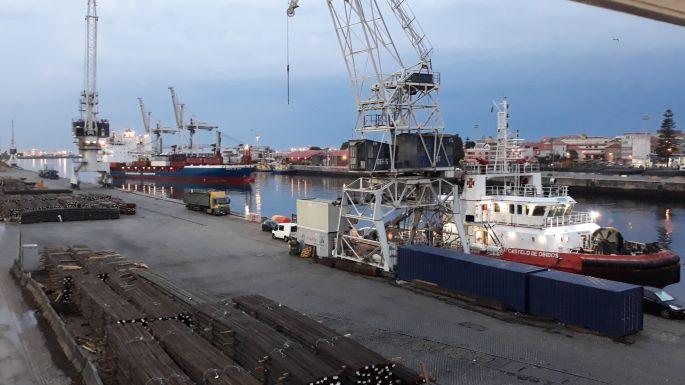 Portugál Camino de la Costa, Porto, Mercado, hajók