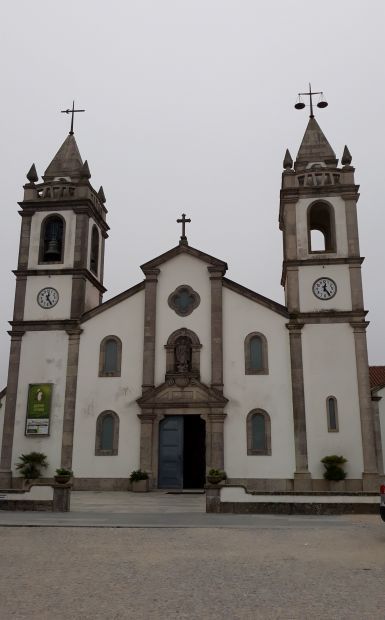 El Camino Costa, Portugál parti út, templom