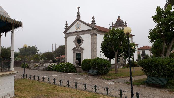 El Camino Costa, Portugál parti út, kápolna