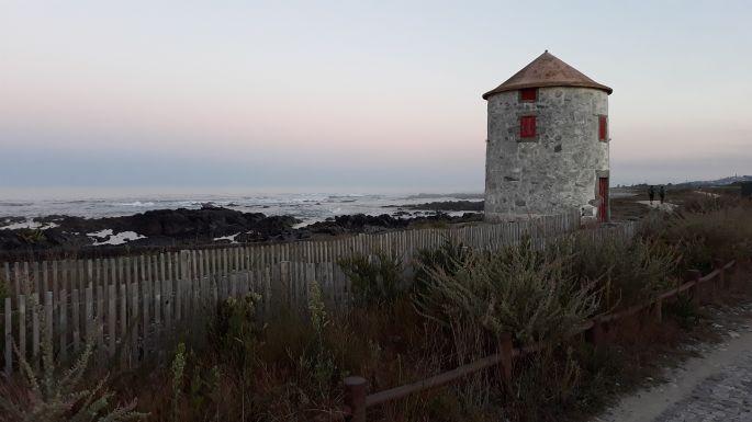 Portugál Camino Costa, az óceán