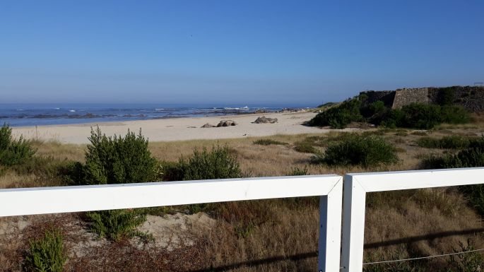 Portugál Camino Costa, óceánpart