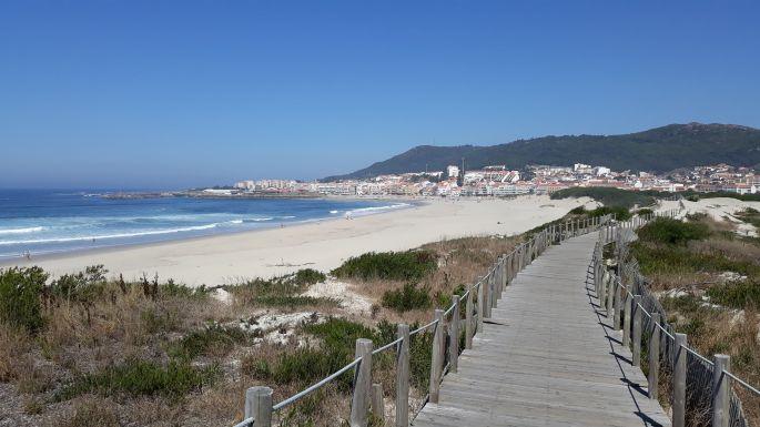 Portugál Camino Costa, végre megpillantottuk a célállomást