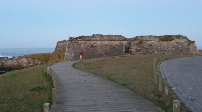 Portugál Camino Costa, a fapallós út