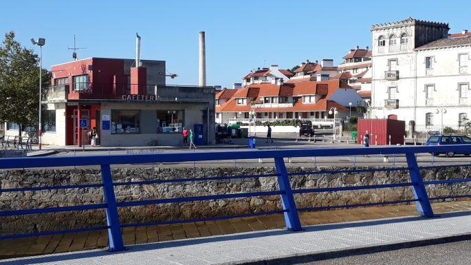 Portugál Camino Costa, A Guarda komp kikötő