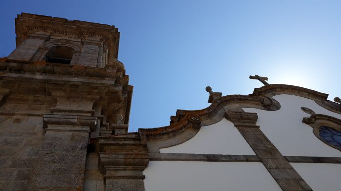 Portugál Camino Costa, A Guarda, templom