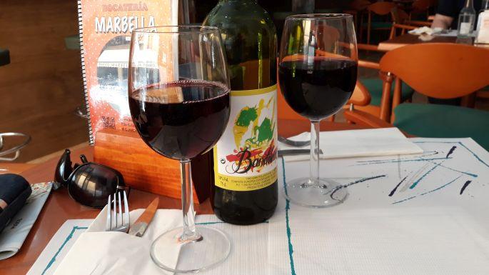 Portugál Camino Costa, A Guarda, peregrino menü, az ihatatlan vino tintóval