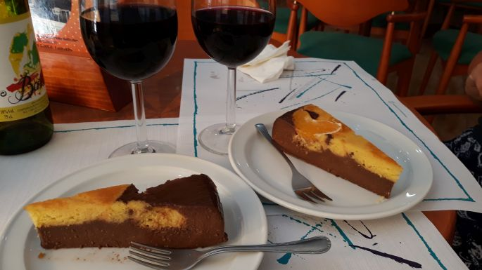 Portugál Camino Costa, A Guarda, peregrino menü