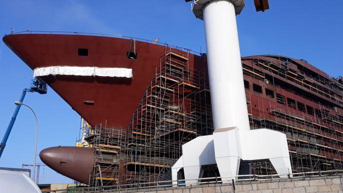 Portugál Camino Costa, Vigo, hajóépítés