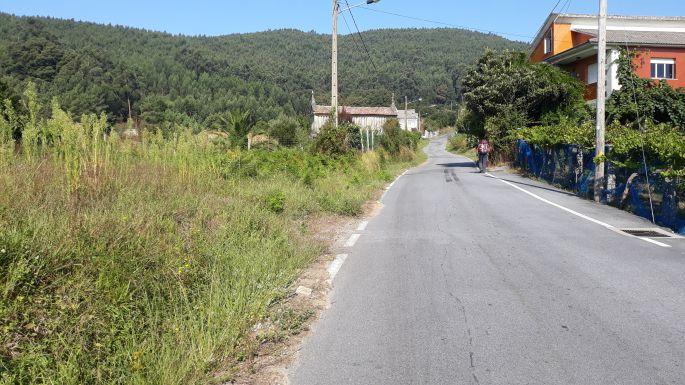 Variante Espiritual, az út megint a hegynek felfelé vezet