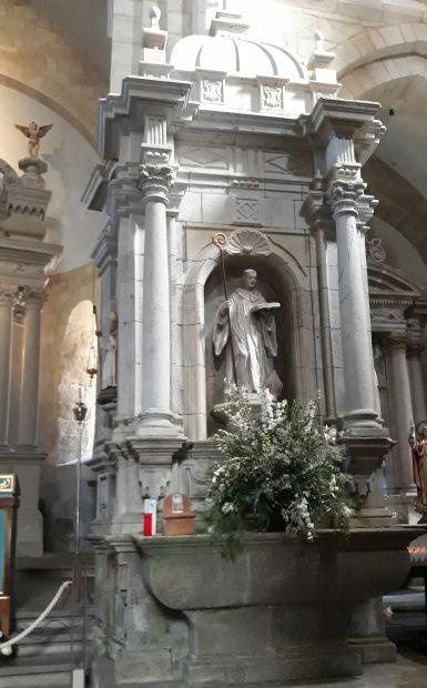 Variante Espiritual, Armenteira, a kolostor temploma