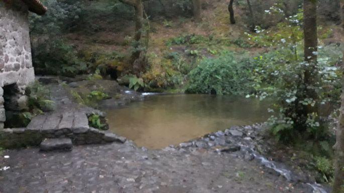 Variante Espiritual, Ruta da Pedra e da Auga, azaz a kő és víz útja, csodaszép
