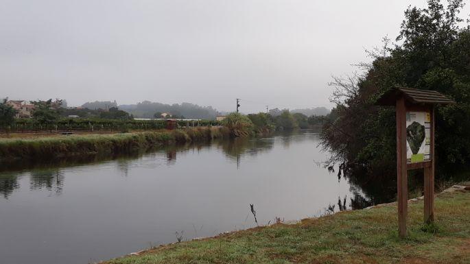 Variante Espiritual, Ruta da Pedra e da Auga, azaz a kő és víz útja, a szélesebb folyó