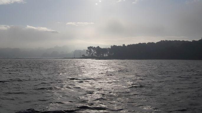 Variante Espiritual, hajó és tenger