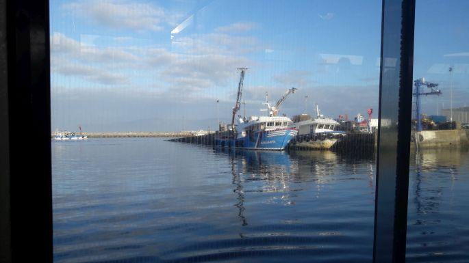 Variante Espiritual, Vilanova de Arousa hajókikötő