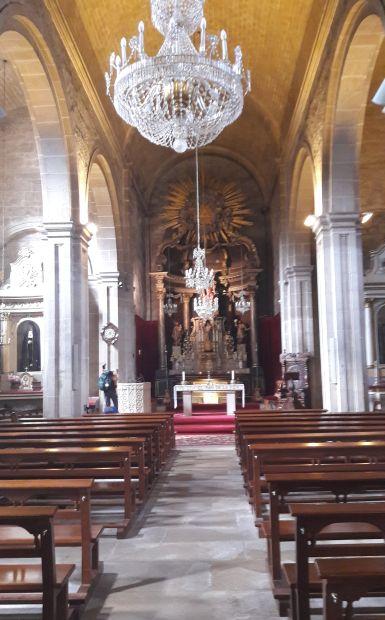 Variante Espiritual, Padrón, Szent Jakab templom