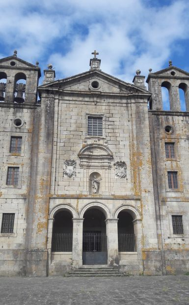 Variante Espiritual, Portugál Camino, Padrón, kolostor