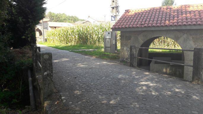 Portugál Camino, kőhíd