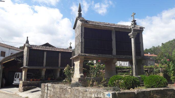Portugál Camino, gabonatárolók