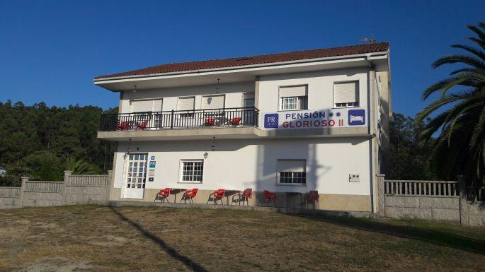 Portugál Camino, A Picarana, útszéli panzió