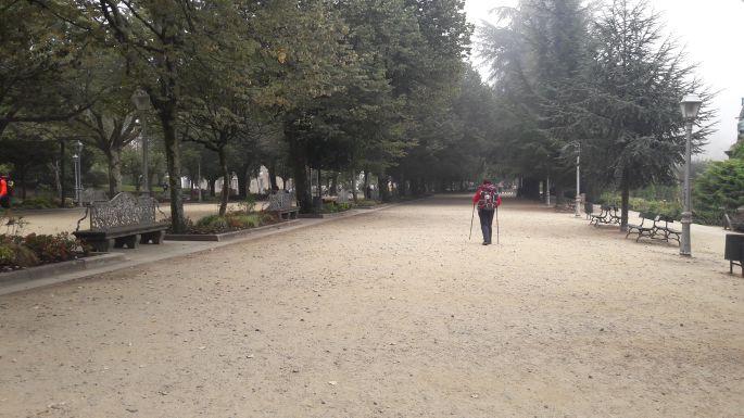 Portugál Camino, Santiago de Compostela, park
