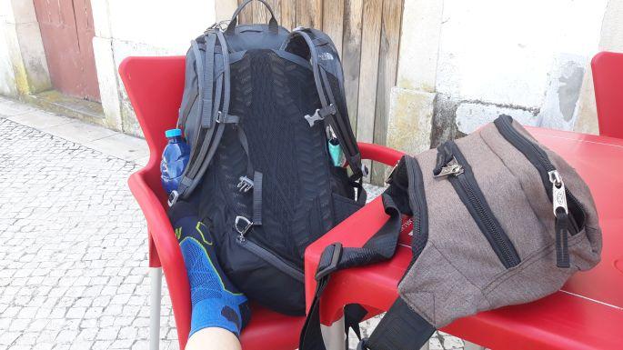 Portugál Camino, az új hátizsák is pihen