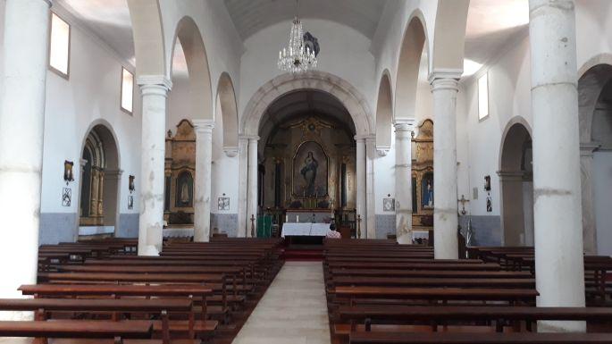 Portugál Camino, Ansiao, templom