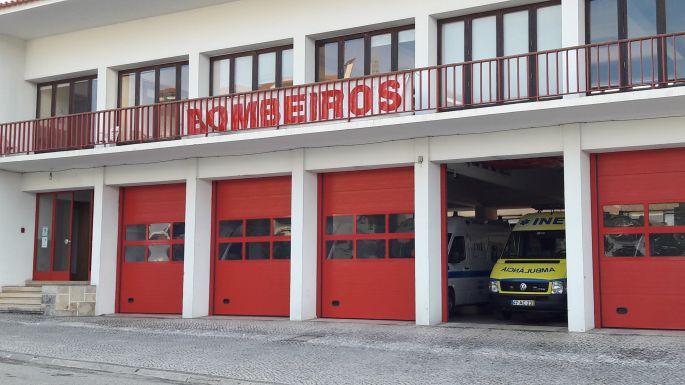 Portugál Camino, Ansiao, bombeiros, tűzoltóság