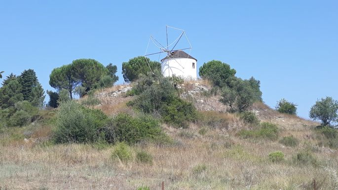 Portugál camino, egy malom a helyen