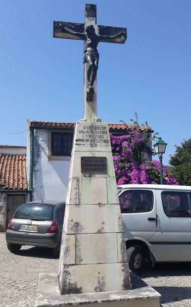 Portugál camino, kereszt