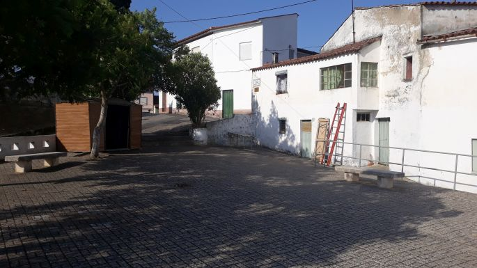 Portugál camino, tér