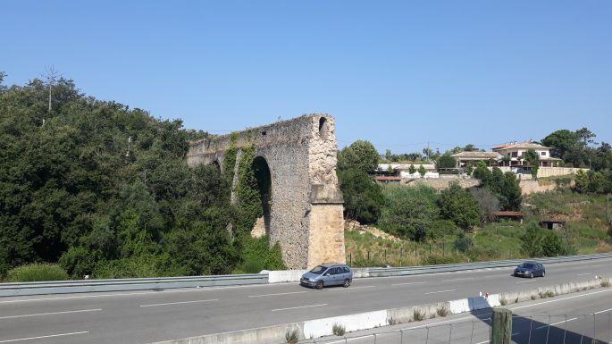 Portugál camino, út, római-kori vízvezeték