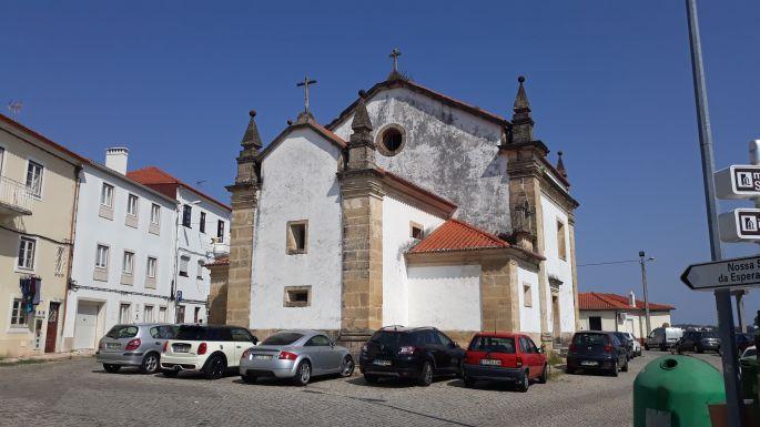 Portugál camino, Coimbra, templom