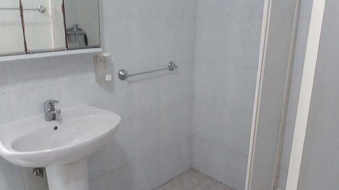 Portugál camino, Coimbra, albergue fürdőszoba