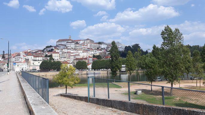 Portugál camino, Coimbra, Santa Clara híd